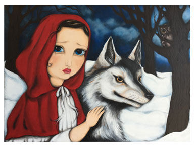 Red Riding Hood by Narina Bailey